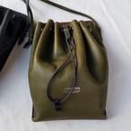 【saranam】drawstring pouch / 【サラナン】ドローストリングポーチ