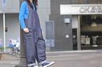 【maillot】linen denim overall