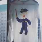 "TOWNBOY KUN""AMERICAN POLICE"" ロングスリーブTシャツ"