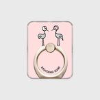 【受注生産】スマホリング(なべづるまなづる ピンク)