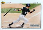 MLBカード 92UPPERDECK Joey Cora #359 WHITE SOX