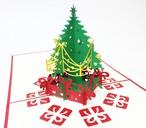 クリスマスカード クリスマスツリー