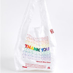 OPEN EDITIN  RAINBOW THANK YOU TOTE