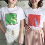 イニシャルTシャツ