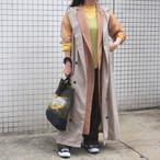 【ethical hippi】custom hoodie gilet(B) / 【エシカル ヒッピ】カスタム フーディ ジレ(B)