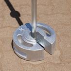 IAMテント オプション KTウェイト 10kg(シルバー塗装)