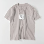 "5.6oz Art Print Cotton S/S TEE ""Box Lady"""