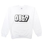 0867 / Sweatshirt / Blockbuster / Logo / White