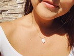 Tube Pearl Necklace チューブパールネックレス