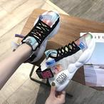 【shoes】ファッション配色合わせやすいスニーカー21881104