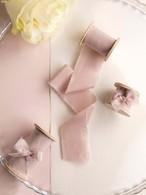 Dusty rose(手染め手裂きタイプ) ■木製スプール付 ダスティローズ