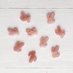 サボテン型カボション(オレンジムーンストーン)1個