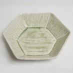 緑柚六角鉢