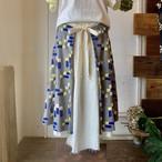 【マーメイドスカート】wish/グレー/original textile《オーダー可能》