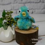 フシギなトリのヒナ(ブルー)