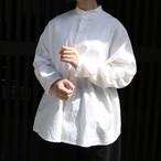 R&D.M.Co-/OLDMAN'S TAILOR タイプライタークロスバギーシャツ