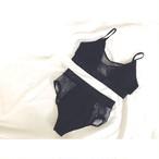 ✨予約受付中✨‼️再入荷予定‼️【送料無料◇即納】Bikini♡メッシュハイウエストビキニ