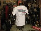 TRASH DEPT オリジナルTシャツ タイプC ホワイト Ladies & Youth サイズ
