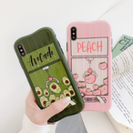 【オーダー商品】Peach&Avocado iphone case