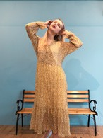 【Limited Item】mimosa yellow cache-coeur one-piece