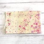 【Ranunculus】2ポケット型マスクケース桜(立体・プリーツ両対応)/マスクポーチ