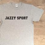"""JS """"カレッジロゴ"""" Tシャツ/グレー"""