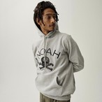 Houndstooth Jolly Roger Hoodie(Heather Grey)