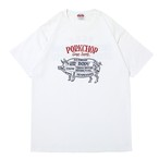 CHOPPERS WELCOME TEE/WHITE