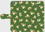 スマホケース シーズーちゃん柄 iPhone用 5色(濃いめの色)