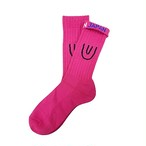 """Symbol -pink-"" Socks"