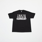 Anoraks | TOKYO FUCKIN TECHNOLOGY TEE [Black]