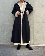 (PAL) bi-color long coat