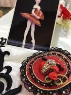 【キュキュチャーム・フルオーダー】バレエ チュチュ ドレス バッグチャーム