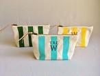 【残1】TSL for WOMAN stripe pouch S/ストライプポーチS