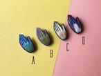 ARRO / 刺繍 ブローチ / hand