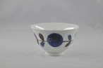 ボタニカル 茶碗 青