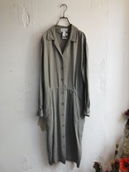 """Land's End"" vintage silk shirt dress"