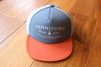 Territory Run Co./LOOWIT ATHLETIC TRUCKER HAT(ROYAL BLUE)