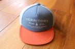 Territory Run Co./LOOWIT ATHLETIC TRUCKER HAT(ROYAL BLUE)