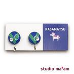 ■KASAMATSU-15 イヤリング。まる。〜ピアス変更可〜