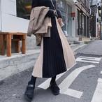【bottoms】甘い雰囲気を漂わせる配色スカート 24515279