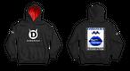 DARKHERO hoodie【hood red】