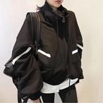 予約注文商品 ポイントジップアップ ジップアップパーカー パーカー 韓国ファッション