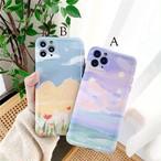 【オーダー商品】Art oil flowers iphone case