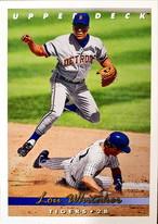 MLBカード 93UPPERDECK Lou Whitaker #273 TIGERS