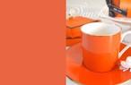 単色 オレンジ A3 (ポーセリンアート転写紙)