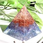 [受注製作]【超希少!タンザナイト】ピラミッド型Ⅱ オルゴナイト タンザナイト