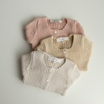 benebene BABY CUDDLE RIBBED CARDIGAN(全3色/12M,18M,24Mサイズ)