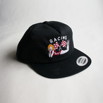 RACING FLAG CAP BLACK