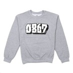 0867 / Sweatshirt / Blockbuster / Logo / Gray